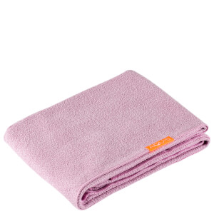 Aquis Long Hair Towel Lisse Luxe Desert Rose