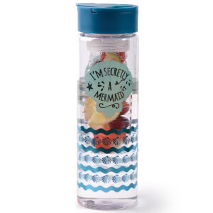 Mermaid Infuser Flask - Blue