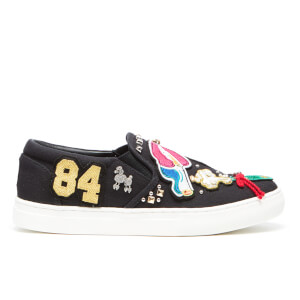 Marc Jacobs Women's Mercer Slip On Trainers - Black Multi
