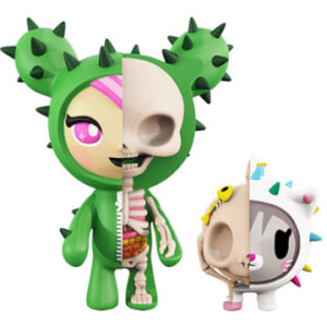 Figurines Sandy & Carina Tokidoki XXRAY