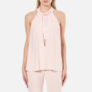 Bec & Bridge Women's Abella High Neck Top - Musk