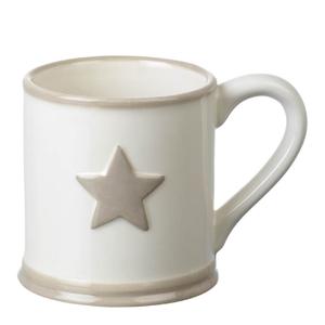 Parlane Star Ceramic Mug - White
