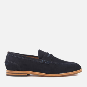 Hudson London Men's Romney Suede Loafers - Navy