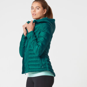 Myprotein Women's Lightweight Puffa Jacket - Black
