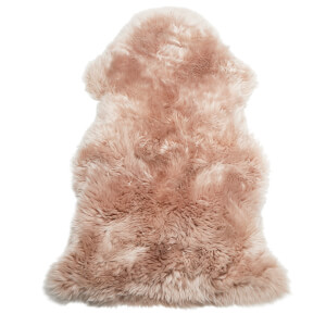 Royal Dream 100% Sheepskin Rug - Candy Pink