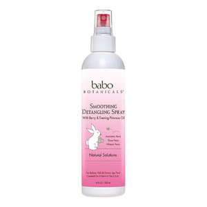 Babo Botanicals Smoothing Detangling Spray - Berry & Primrose
