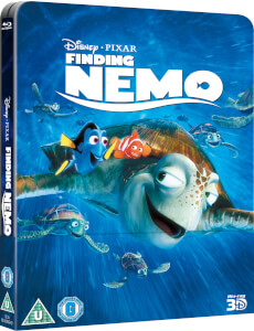 Findet Nemo 3D (Inklusive2D Version) - Zavvi UK Exklusive Lentikular Blu-ray Steelbook Edition