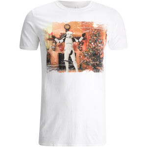 Star Wars Stormtrooper Herren Christmas Tree T-Shirt - Weiß