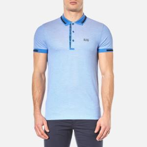 BOSS Green Men's Paule 4 Polo Shirt - Medium Blue