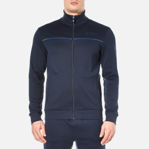 BOSS Green Men's Skaz Zip Sweatshirt - Navy