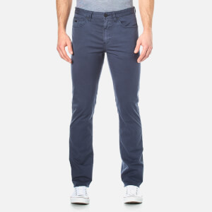 BOSS Green Men's Delaware Slim Trousers - Navy