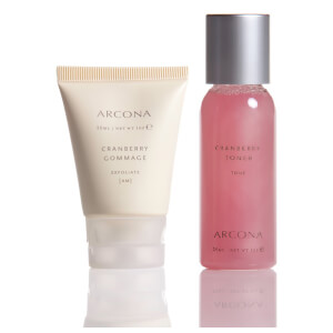ARCONA Cranberry Gommage 1oz and Cranberry Toner 1oz Free Gift