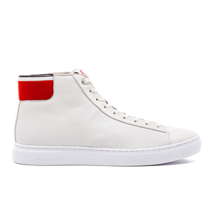 PS by Paul Smith Men's Shima Hi-Top Trainers - White Mono