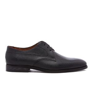 PS by Paul Smith Men's Leo Leather Plain Derby Shoes - Black
