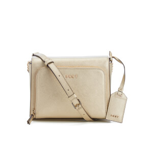 DKNY Women's Bryant Park Pocket Cross Body Bag - Gold
