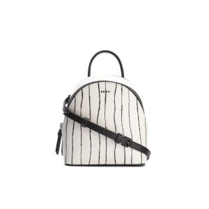 DKNY Women's Mini Backpack - Twine Stripe