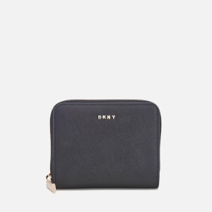 DKNY Women's Bryant Park Small Zip Around Purse - Black