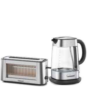 Kenwood TOG800CL Persona Two Slice Toaster and ZJG800CL Persona Kettle - Silver