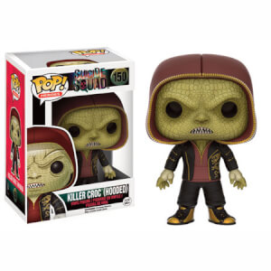 Suicide Squad Killer Croc (Hooded) Pop! Vinyl Figur