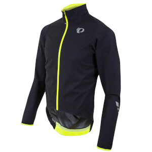 Pearl Izumi Pro Aero WxB Jacket - Black/Screaming Yellow