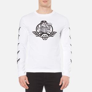 Billionaire Boys Club Men's B-52 Long Sleeve T-Shirt - White