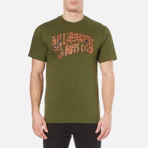 Billionaire Boys Club Men's Zebra Camo Arch Logo T-Shirt - Olive