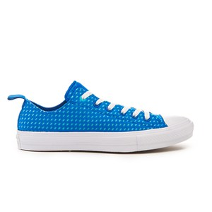 Converse Men's Chuck Taylor All Star II Ox Trainers - Soar/Fresh Cyan/White
