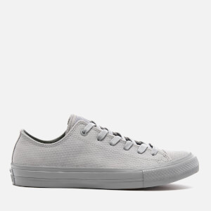 Converse Men's Chuck Taylor All Star II Ox Trainers - Dolphin/Gum