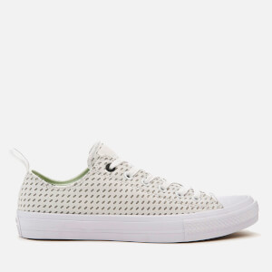 Converse Men's Chuck Taylor All Star II Ox Trainers - White/Ash Grey/Gum