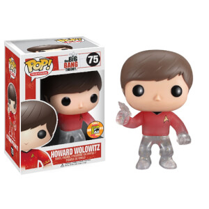 Funko Teleporting Star Trek Howard Wolowitz Pop! Vinyl