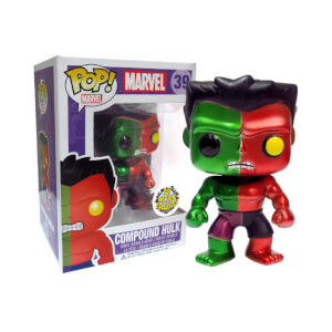 Funko Compound Hulk Metallic (Toy Anxiety Exclusive) Pop! Vinyl