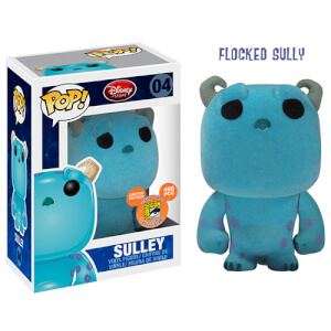 Disney Funko Sulley (Flocked) Pop! Vinyl