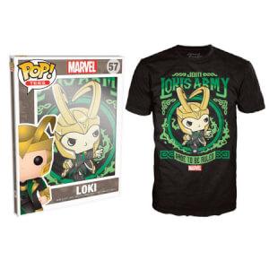Funko XXL-Marvel Pop! Tee Lokis Army Pop! Tees