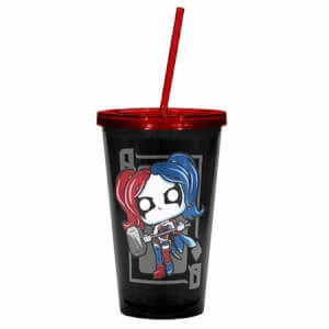 Funko Harley Quinn Travel Cup Pop! Home