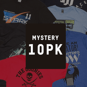 MYSTERY GEEK T-SHIRT 10er Pack