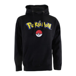 Pokemon Men's Logo Hoody - Black