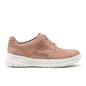 FitFlop Women's Sporty-Pop X Crystal Trainers - Mocha
