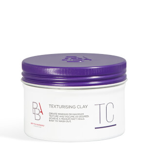 British Barbers' Association Texturising Clay 100ml