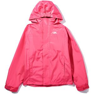 Trespass Girls' Skydive Waterproof 3-in-1 Jacket - Petal Pink
