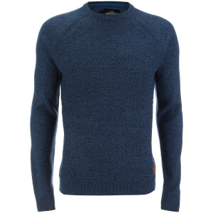 Threadbare Men's Chartwell Raglan Jumper - Teal