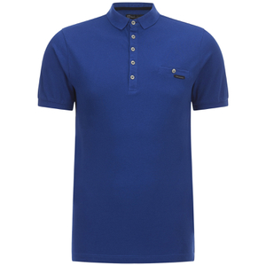 Polo pour Homme Dunraven Dissident -Bleu Monaco