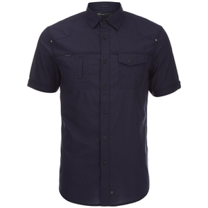 Dissident Men's Zenna Short Sleeve Shirt - Dark Navy