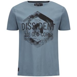 T-Shirt Homme Scarab Dissident -Bleu Vieilli