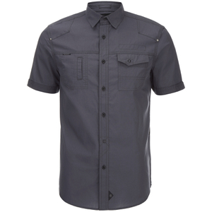 Dissident Men's Zenna Short Sleeve Shirt - Charcoal