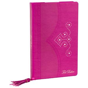 Ted Baker Purple Brogue Notebook - Citrus Bloom Range