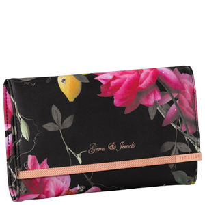 Ted Baker Black Jewellery Roll - Citrus Bloom Range