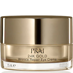 PRAI 24K GOLD Wrinkle Repair Eye Crème 0.5 fl.oz