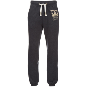 Tokyo Laundry Men's Hunters Peak Sweatpants - Charcoal Marl