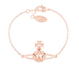 Vivienne Westwood Women's Astrid Bracelet - Crystal/Rose Gold