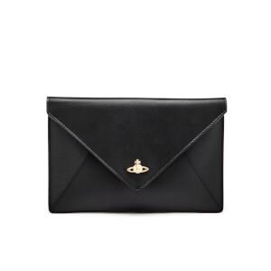 Vivienne Westwood Women's Busta Orb Pouch Clutch Bag - Black